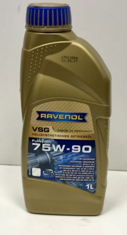 Ravenol VSG 75W90 Synthetic fluid 1 Litre
